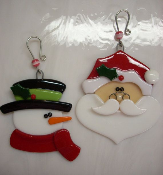 Best fused christmas ornaments images on pinterest