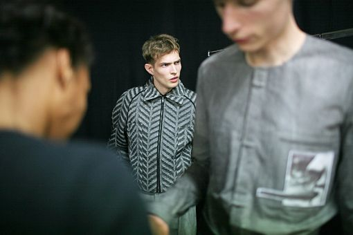 Backstage at Menswear S/S 2014 | Ford Models