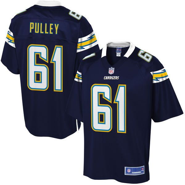 Spencer Pulley Los Angeles Chargers NFL Pro Line Youth Player Jersey - Navy - $74.99
