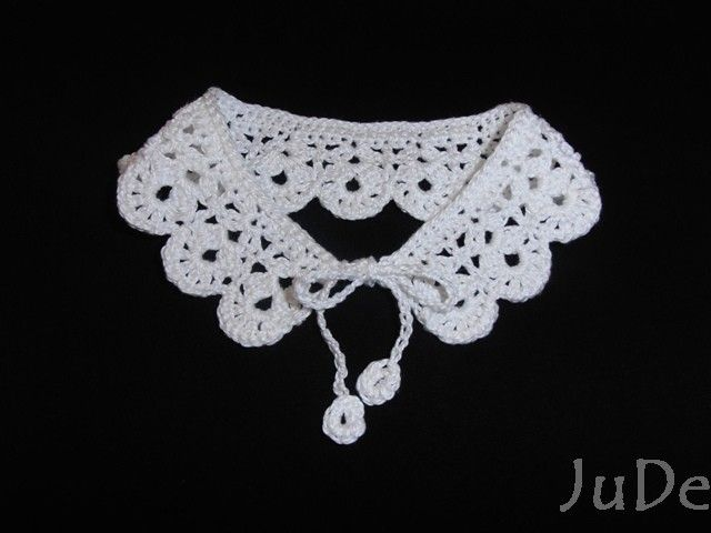 crochet collar for 2 year old  https://www.facebook.com/pages/Jude-Handmade/216830615147075
