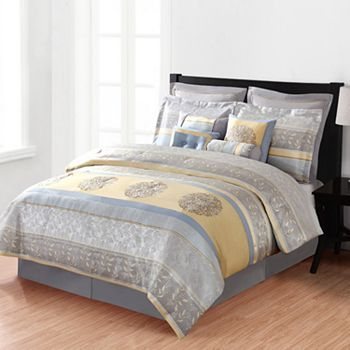 master bedroom bedding sets home classics 174 hayley 12 pc comforter set cal king 15996