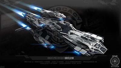 Star Citizen Rear Admiral LTI - Deluxe Silver Collector's Box - Constellation