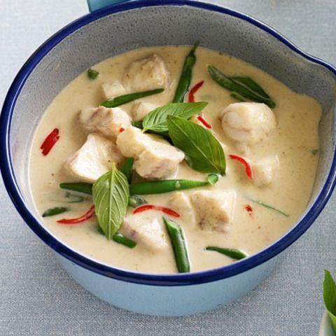 Зеленый карри с рыбой: тайские рецепты