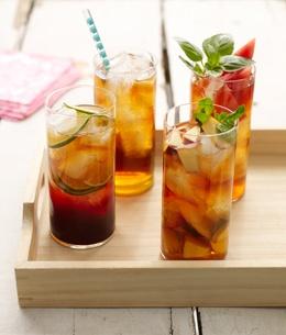... these bevies look refreshing? Jasmine Tea Mojitos from David's Tea