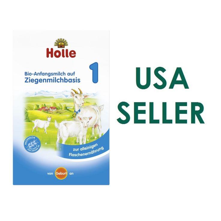 Holle Goat Milk Formula Organic Infant Baby Milk Stage 1 Usa Seller 400g Uk German Version Holle Goat Milk Formula Goat Milk Formula Baby Milk