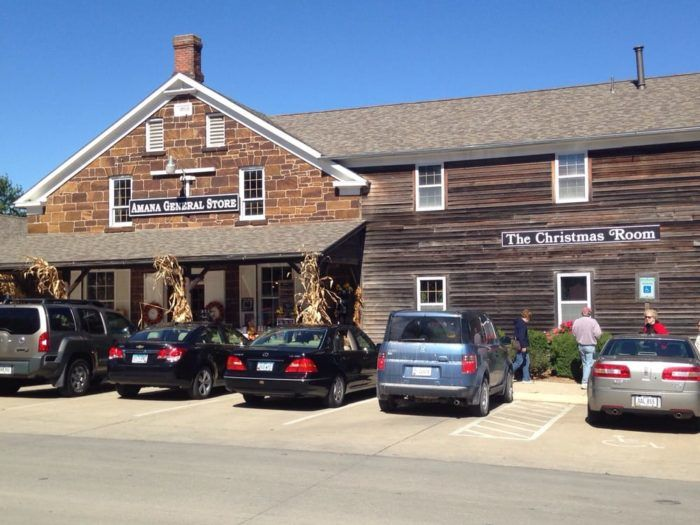 The Amana General Store is in the charming and historic Amana Colonies.