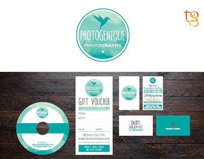 """Check out new work on my @Behance portfolio: """"Photogenique Photography Branding"""" http://on.be.net/1JGN9GO"""
