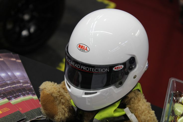 Even teddy bears love to race!  A talented group of students from Leicester University who build racing cars in their spare time had a mini Bell helmet on their mascot bear & we thought it looked great.  If you think this looks cool, don't forget to check out Bell's full-size helmets on our website: