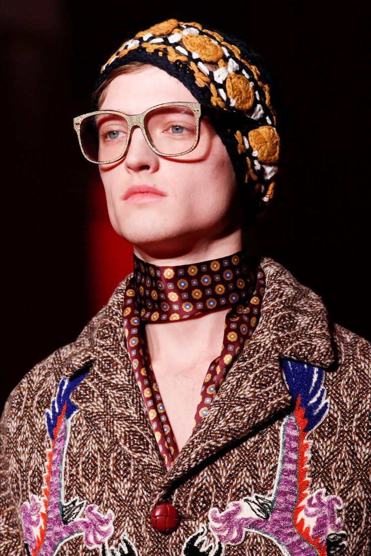 Sfilata Moda Uomo Gucci Milano - Autunno Inverno 2016-17 - Vogue