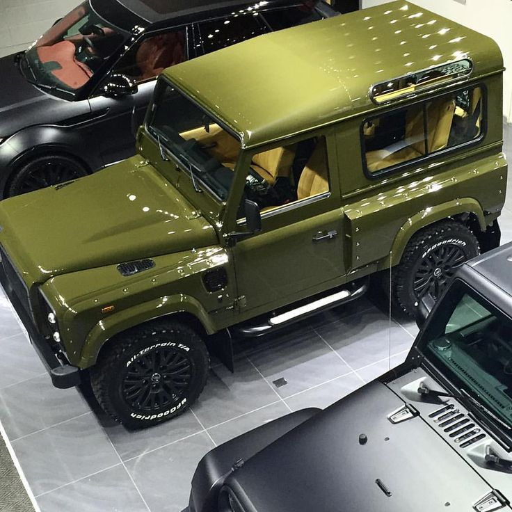 Land Rover Defender Wide Track