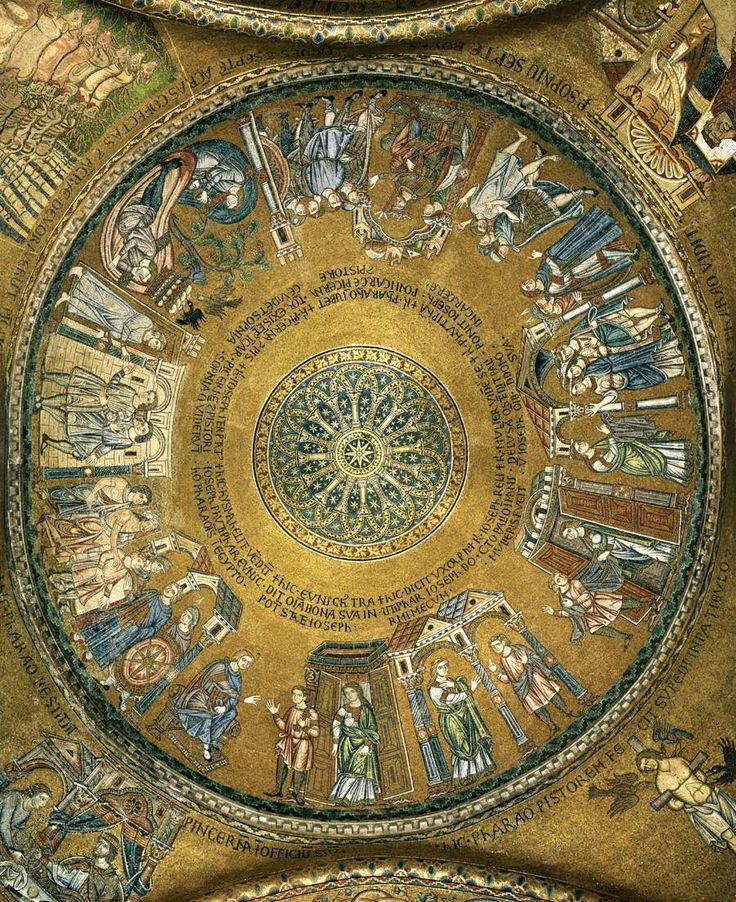 Renaissance art basilica di san marco mosaics for Architecture byzantine