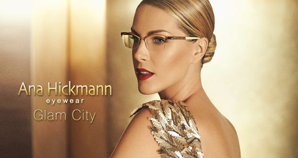 Ana Hickman eyewear! Glam City! #eyewear #womensglasses #stylish #Hickmann Facebook: OpticalHouse Twitter: @OpticalHouseGen Instagram: @OpticalHouseGen