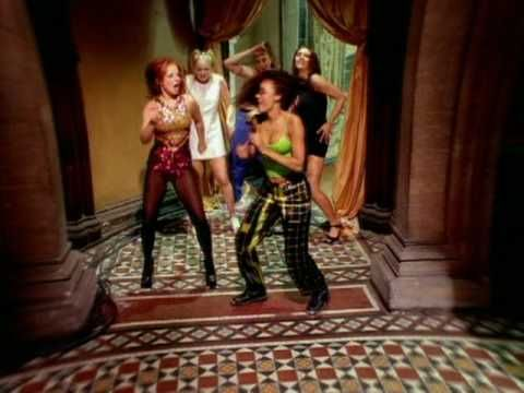 Spice Girls - Wannabe. For some strange reason I like this song more now than I did when it came out.