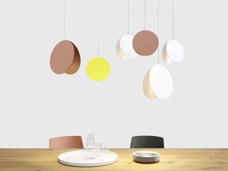 North pendant light by Eva Marguerre & Marcel Besau for e15   Part of show 9 LDF 2014