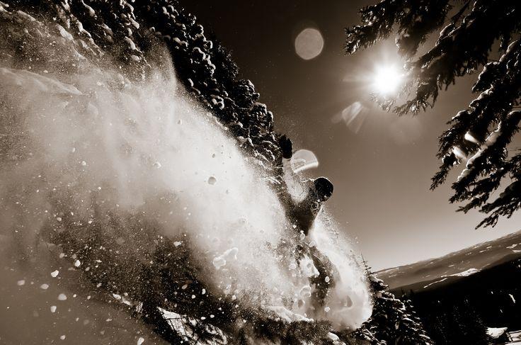 Powder Rush by Matt Horspool on 500px