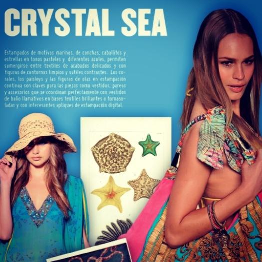 Crystal sea - swimwear Trend Report Summer 13