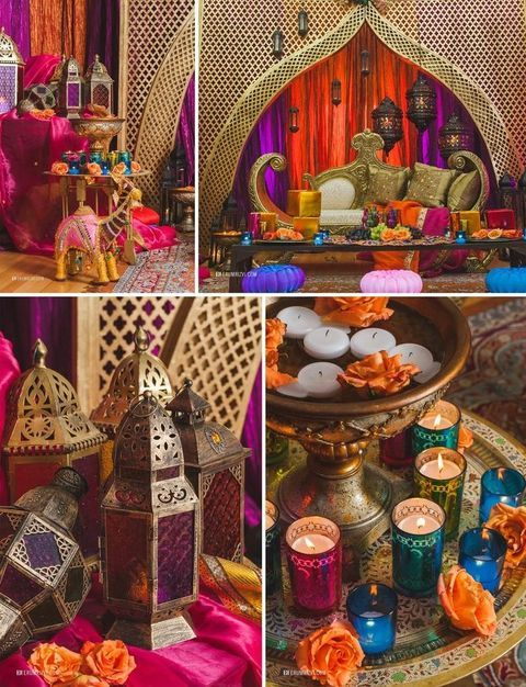 Summer is coming, and it's high time to rock bold colors and exotics! That's why today I'd like to share Moroccan wedding ideas with you – boho, bright and very original! Turquoise...