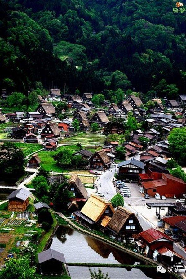 日本白川乡合掌村(Shirakawa)