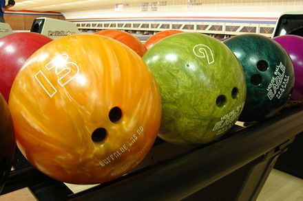 Boule de bowling — Wikipédia