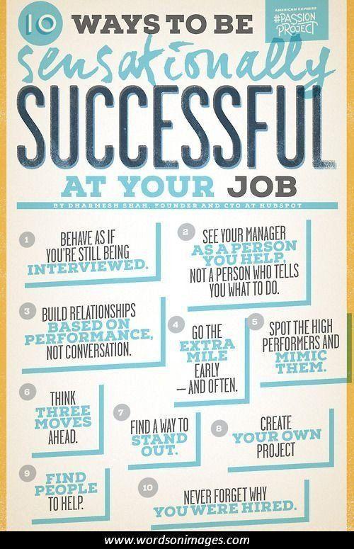 Inspirational Quotes Career Success: Inspirational Quotes New Job