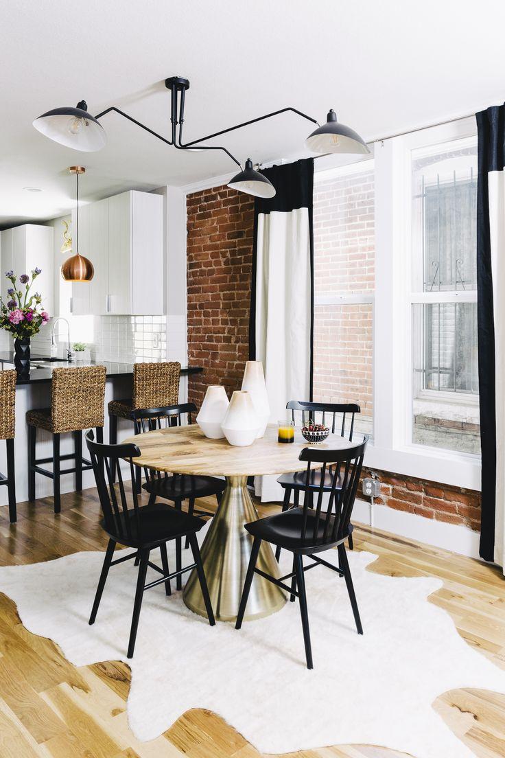 modern-boho dining room