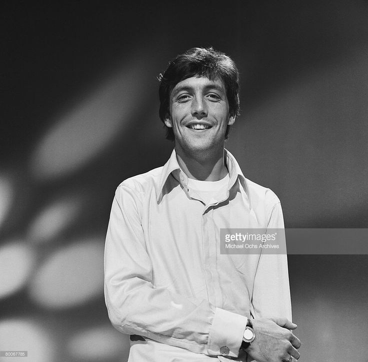 Mike Smith lead singer and keyboard player for The Dave Clark Five rehearses for an appearance on the TV show Shindig circa 1965 in Los Angeles, California.