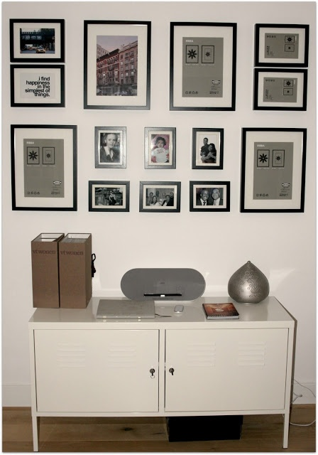 21 best images about fotowand on pinterest photo displays photo walls and black banister. Black Bedroom Furniture Sets. Home Design Ideas