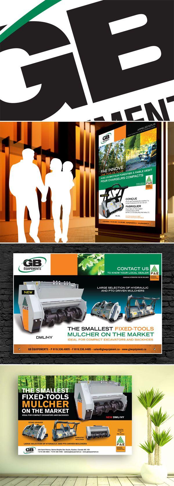 GB Equipements  Une autre référence d'un client satisfait !  Le mandat : des publicités, des publicités, des publicités !