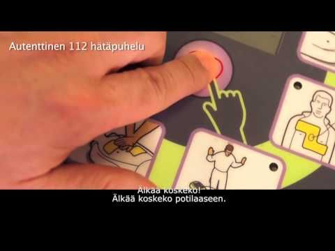 27-vuotiaan miehen elvytys defibrillaattorin avulla - YouTube