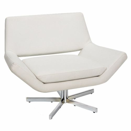 Found it at AllModern - Matt Swivel Arm Chair