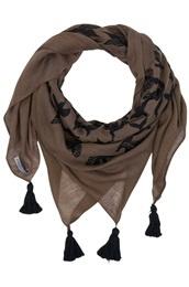 Bird print scarf from Joy