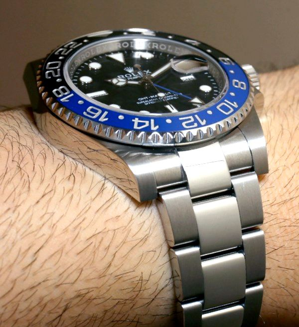 Rolex GMT Master II Day/Night 116710 BLNR Watch For 2013 Hands-On