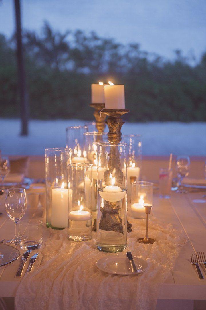 187 best Candles images on Pinterest Wedding centerpieces
