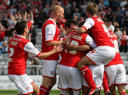 Rotherham United - well done boys