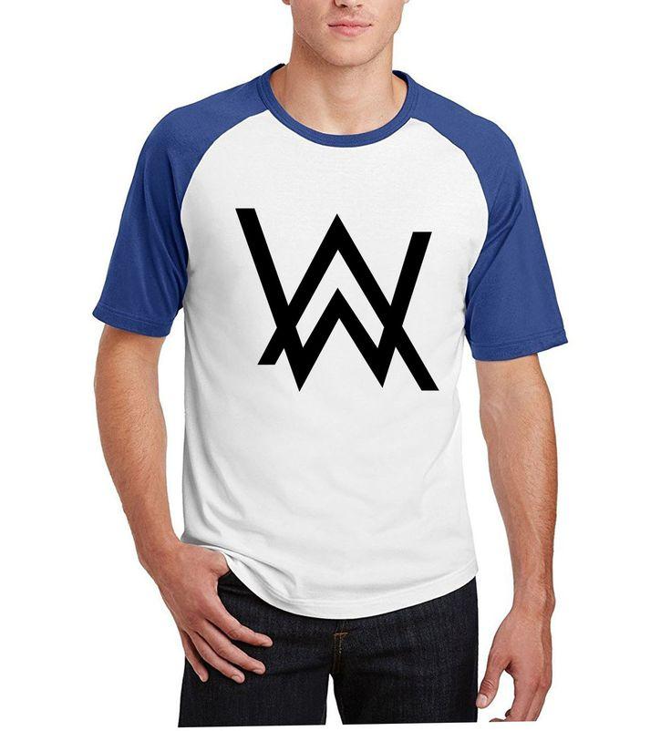 tee shirt homme cotton camisetas men 2017 summer raglan short sleeve t shirts Music DJ Divine Comedy Alan Walker Coat print tops #Affiliate