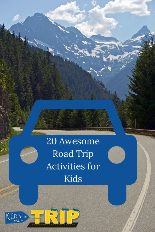 20 Awesome Road Trip Activities For Kids