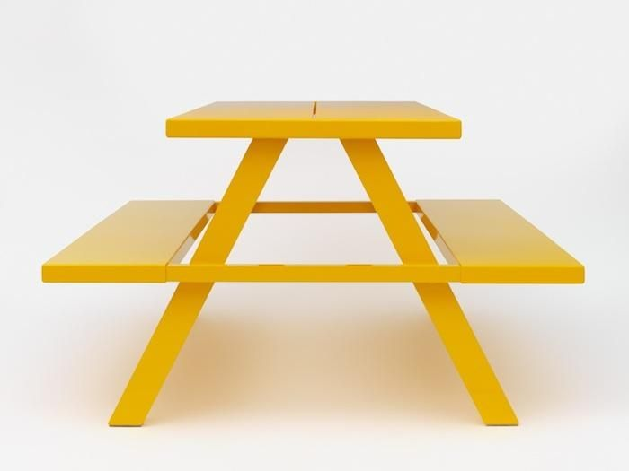 A Modern Take on the Classic Picnic Table