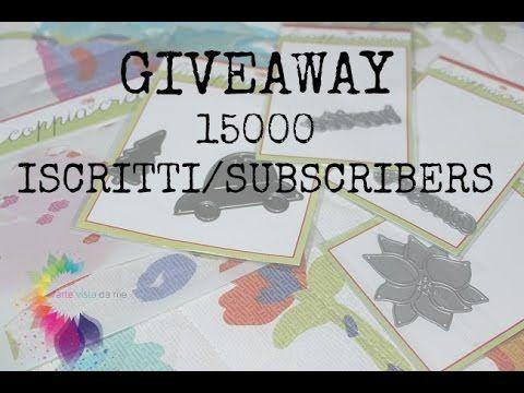 Giveaway 15000 Iscritti/Subscribers (APERTO) - Concorso 15000k