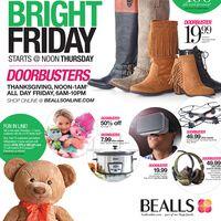 Bealls Black Friday 2016 Ad
