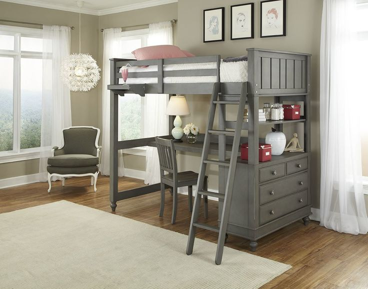 Queen Bunk Bed Desk - Rustic Living Room Furniture Sets Check more at http://www.gameintown.com/queen-bunk-bed-desk/