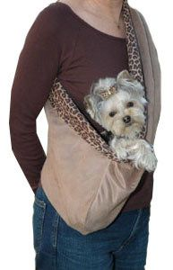 Dog Carriers Slings For Dogs Susan Lanci Fawn Leopard | Flickr - Photo Sharing!