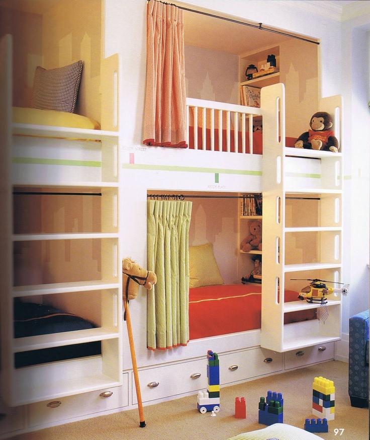 Fun bunk beds!