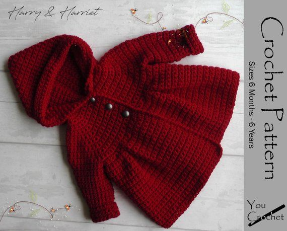 PERILA Baby Girl Hooded Sweater Infant Button Coat Todder Winter Sweater Baby Antumn Jacket for 3-24 Months
