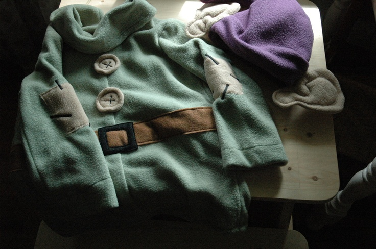 Snow White and The Seven Dwarfs Dopey Costume - Includes tunic and hat - Halloween Costume. $125.00, via Etsy.