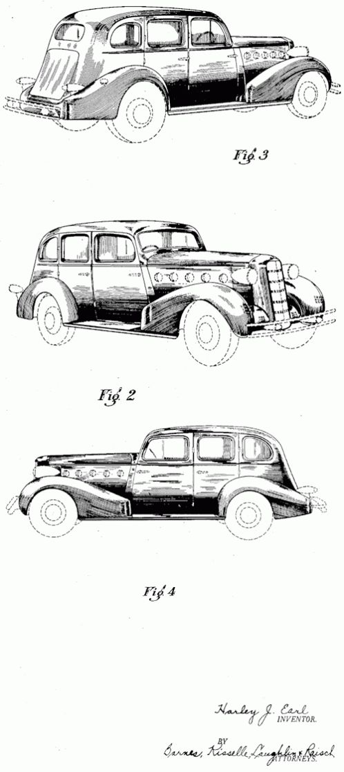 38 best Harley Earl ( Car Designer Of The Future ) images on ...