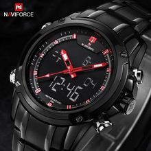 Like and Share if you want this  NAVIFORCE watches men Sports watches Black steel Dual time Digital Quartz Watch waterproof casual business japan movt wristwatch     Tag a friend who would love this!     FREE Shipping Worldwide     #Style #Fashion #Clothing    Buy one here---> http://www.alifashionmarket.com/products/naviforce-watches-men-sports-watches-black-steel-dual-time-digital-quartz-watch-waterproof-casual-business-japan-movt-wristwatch/