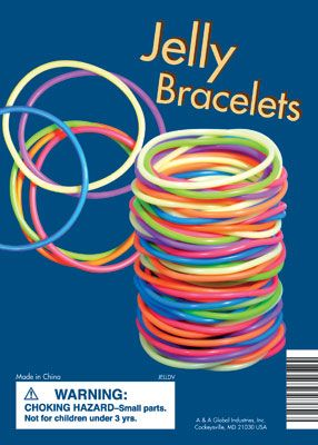 Jelly Bracelets OMG I used to have so many and would wear them all at the same time