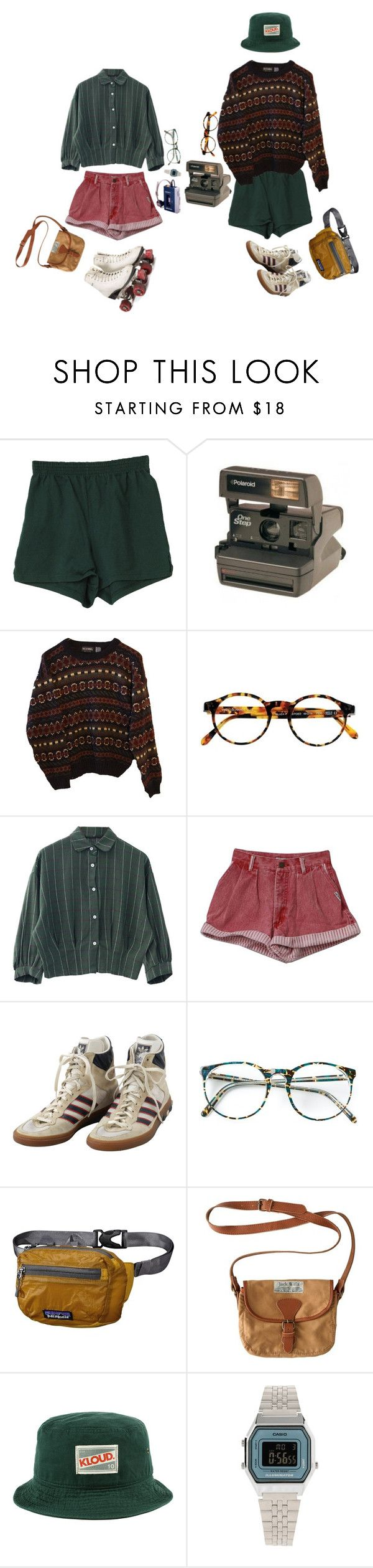 """Retro kids"" by mel0ody ❤ liked on Polyvore featuring Polaroid, INDIE HAIR, François Pinton, adidas, Patagonia, Jack Wills and Casio"