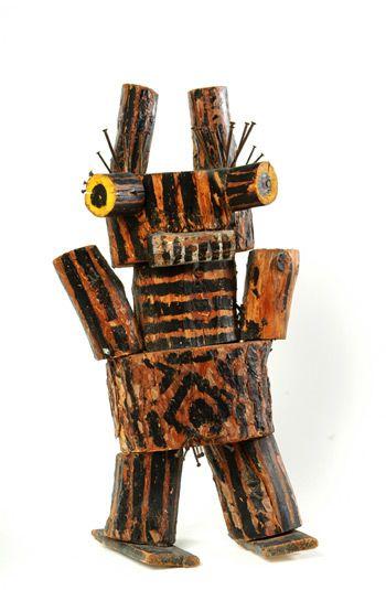 Karel Appel, Staand Figuur - 1947 on ArtStack #karel-appel #art