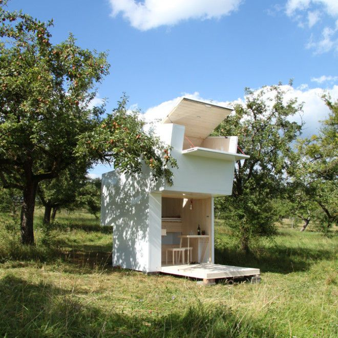 Contemporary Kid Clubhouses This Minimalist Outdoor Playhouse is Perfect for Design-Savvy Kids